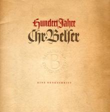 """Hundert Jahre Chr. Belser. Eine Denkschrift"", Stuttgart, 1938"