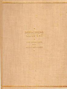 """Lulu Meusser: """"Seelchens gute Tat"""", Berlin, o.J."""