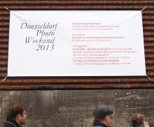 Plakat Düsseldorf Photo Weekend, Book Salon