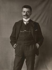 PortraitStenger Unbekannter Fotograf Porträt Erich Stenger 1906 Museum Ludwig Foto: © Rheinisches Bildarchiv