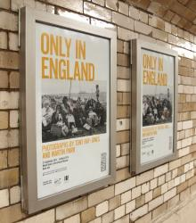 Only in England, Photographs by Martin Parr and Tony Ray-Jones, Plakate