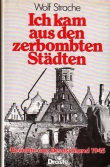 """Wolf Strache: """"Ich kam aus den zerbombten Städten"""""""