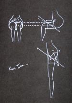 Signatur und Zeichnung Ken Tosa