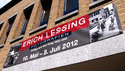 Ausstellung von Erich Lessing in der Galerie der Stadt Fellbach