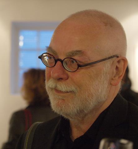 Michael Nether, Vernissage in der Galerie Norbert Nieser, April 2016