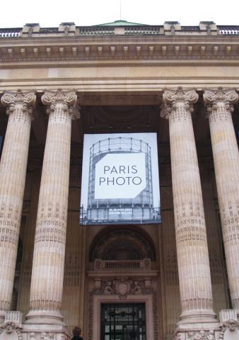 Paris Photo 2012, Eingang Grand Palais